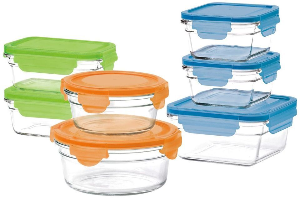 Gllock 14 Piece Oven Safe Box Set With Lids
