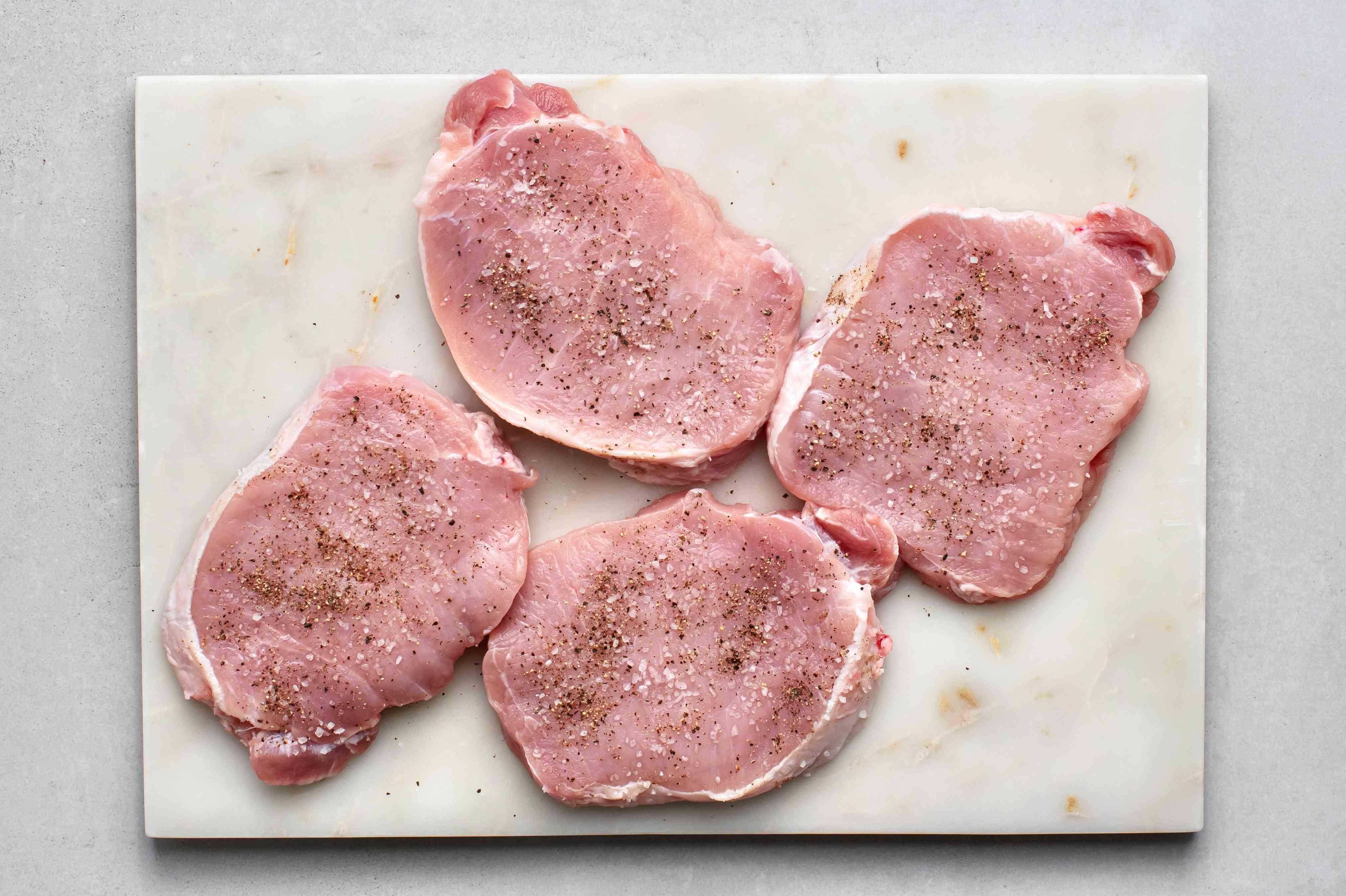 seasoned pork