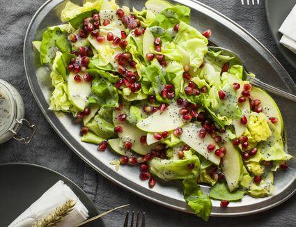 Pomegranate apple salad recipe