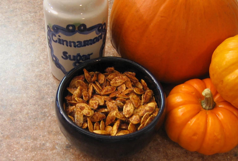 Sweet Spiced Pumpkin Seeds