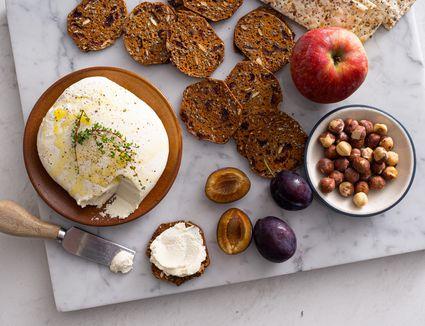 Homemade Vegan and Dairy-Free Almond Cheese