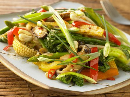 16 Minute Vegetable Stir Fry Recipe
