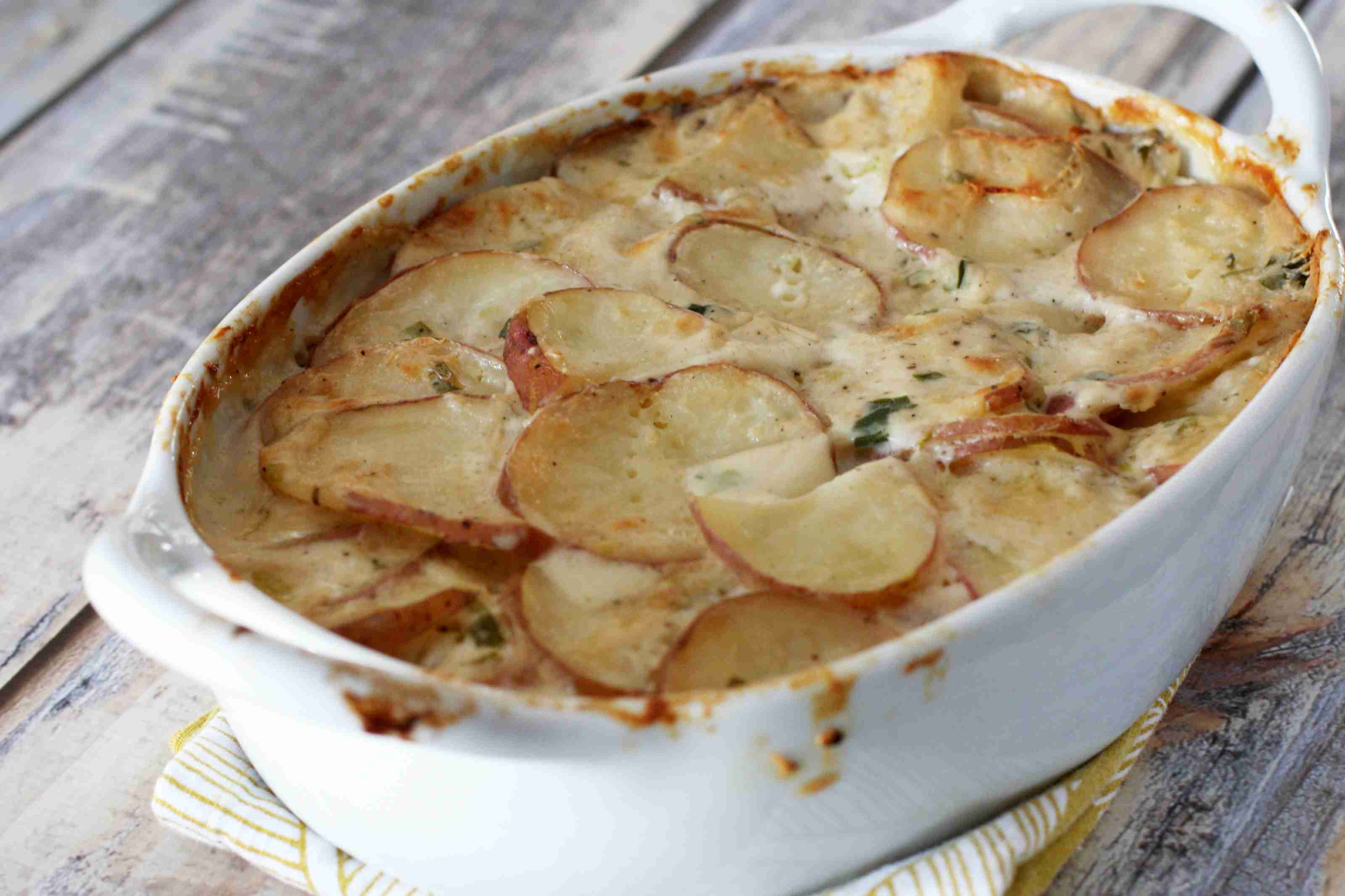 savory scalloped potatoes