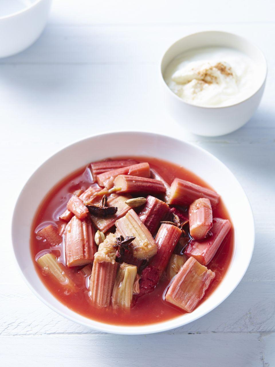Søtsuppe - Sopa dulce escandinava