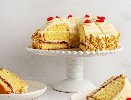 German Crown Cake (Frankfurter Kranz)