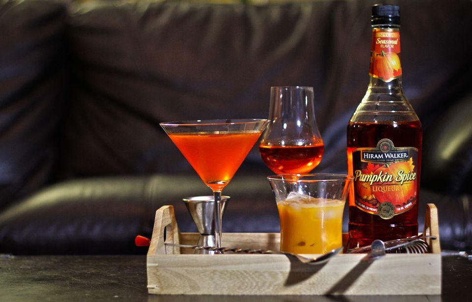 Hiram Walker Pumpkin Spice Liqueur