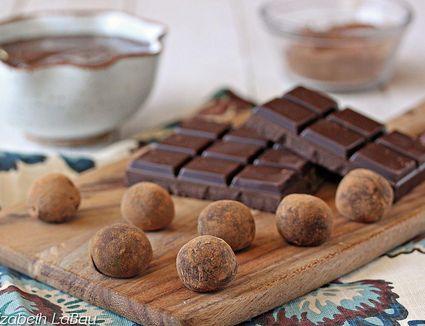 An assortment of various chocolate types