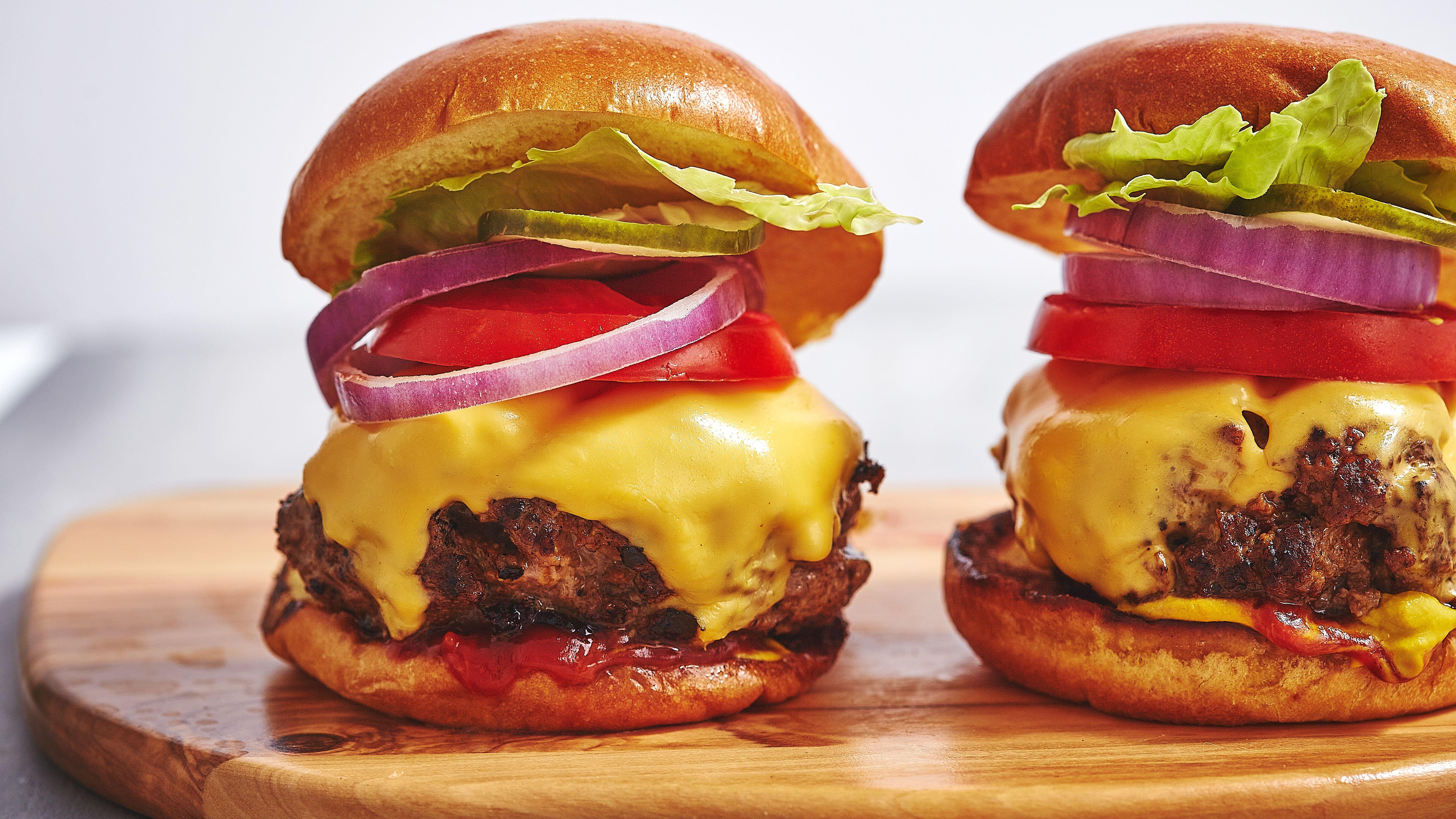 Indoor Grilled Burger Recipe