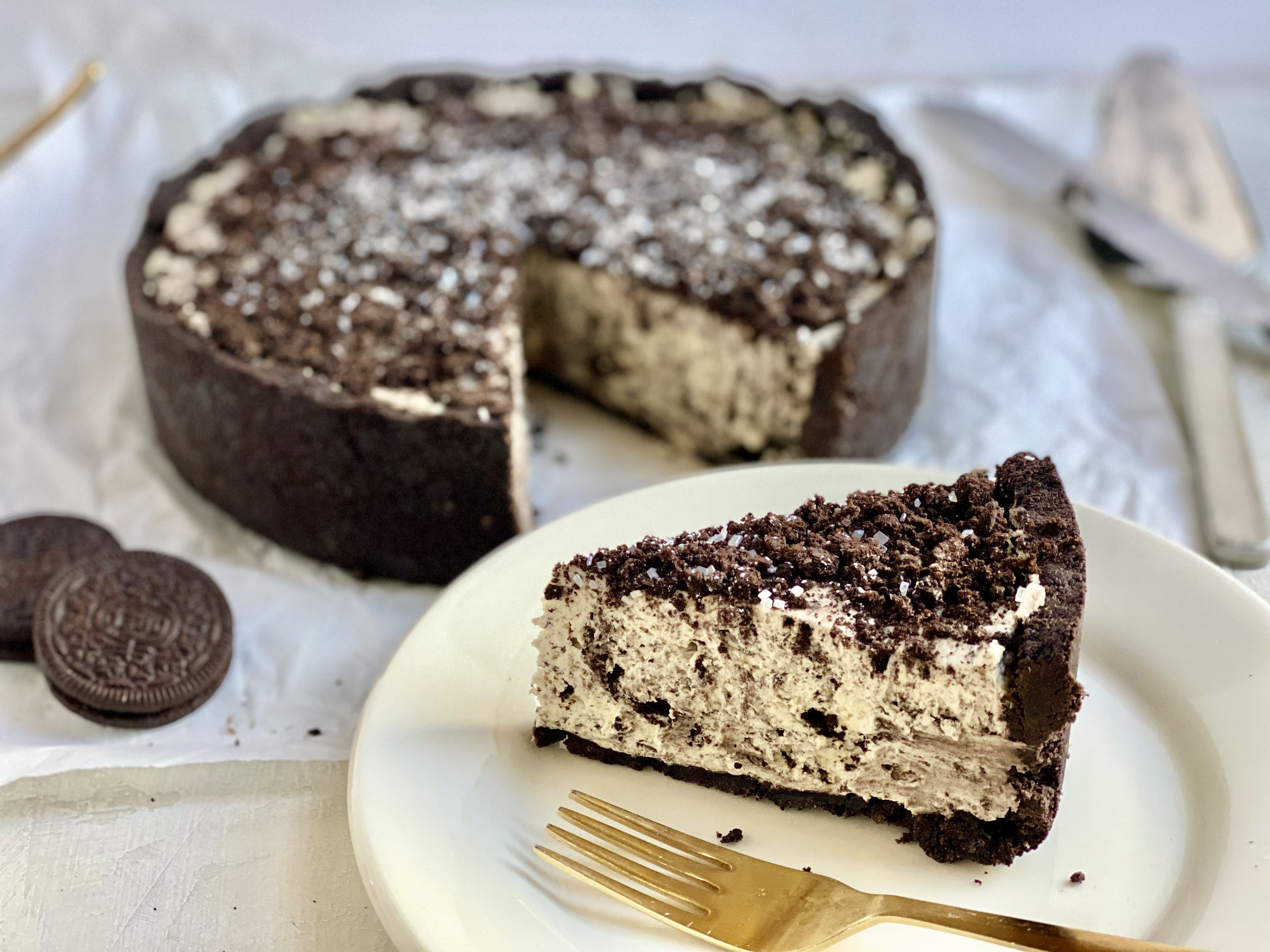 No-Bake Oreo Cheesecake Is Easy to Make Any Time You Want