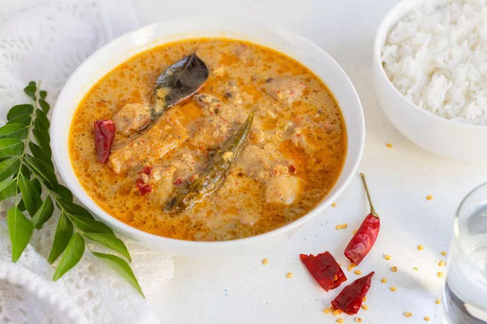 Meen Kulambu (South Indian Fish Curry)