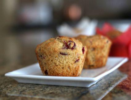 cranberry nut muffins