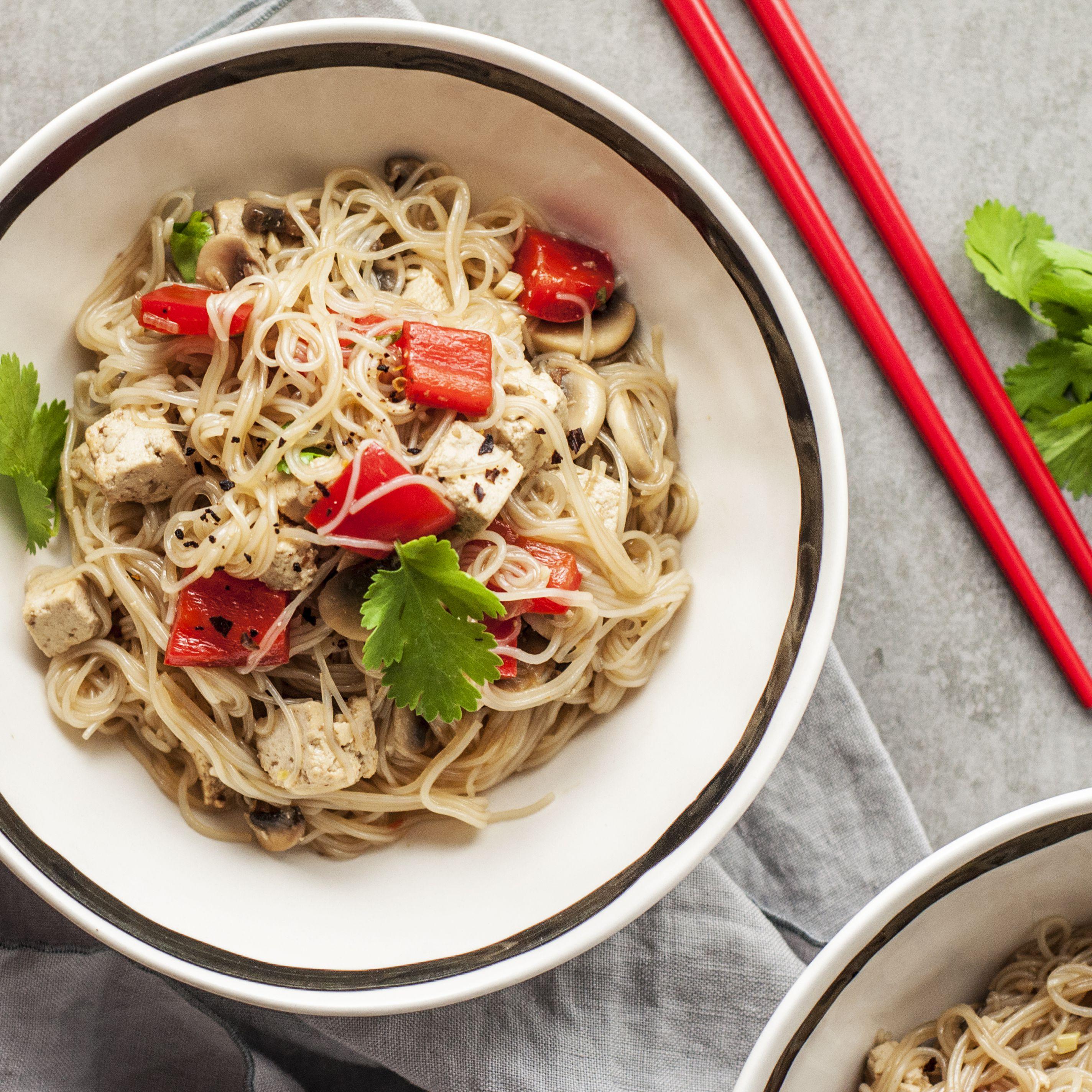 Traditional Thai Bean Thread Glass Noodles Recipe