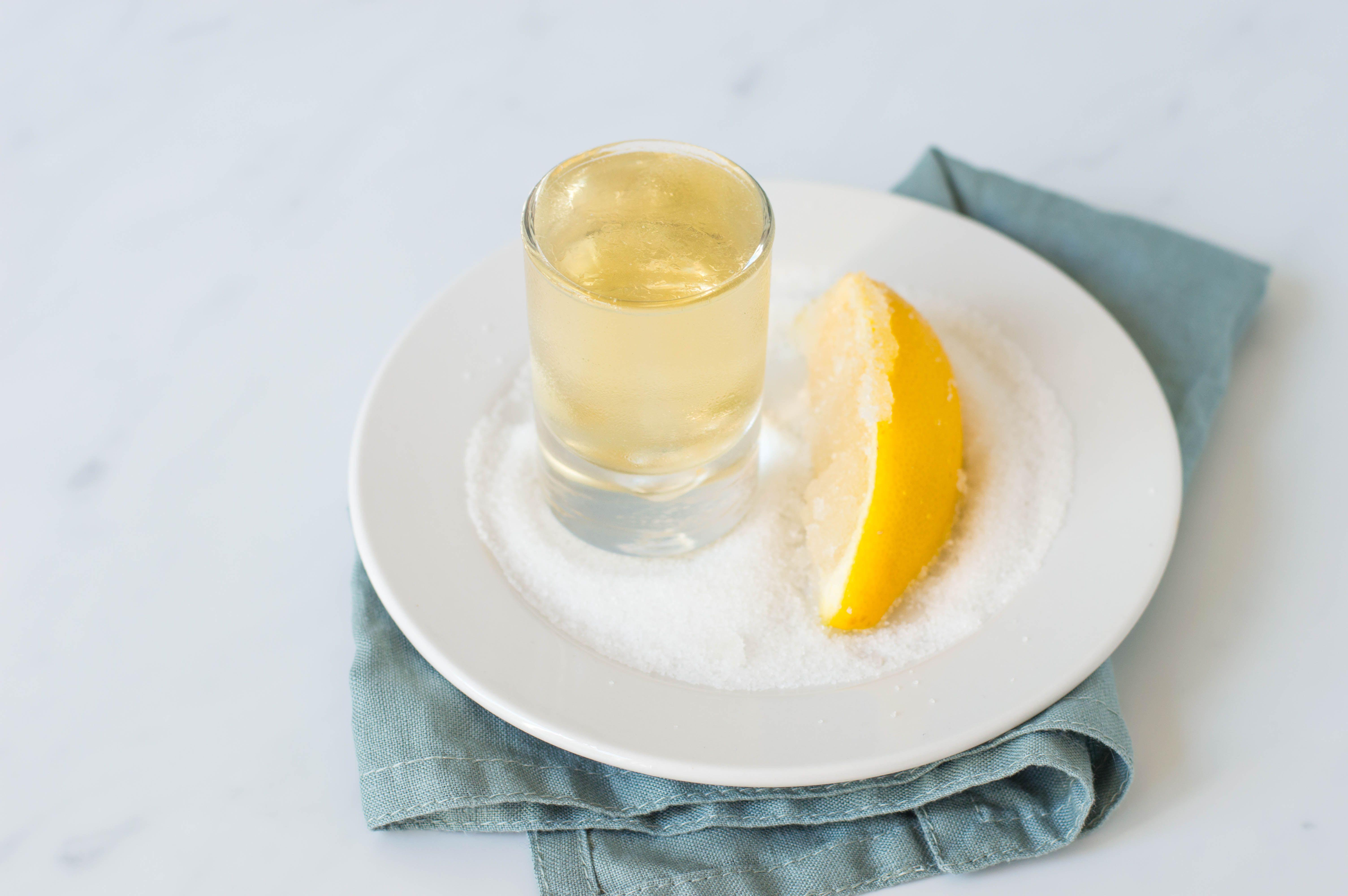 Chocolate Cake Shot Lemon Vodka