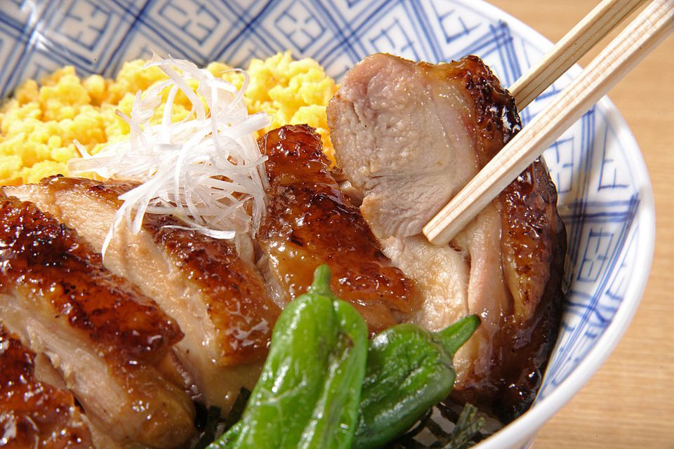 Grilled Asian Pheasant