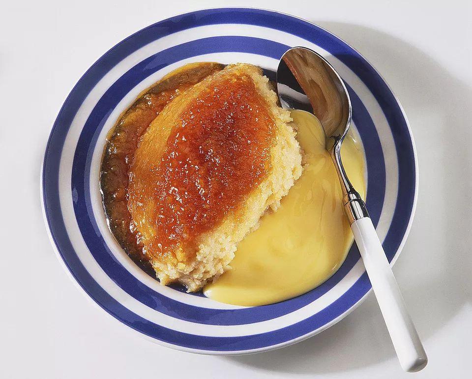 Marmalade Steamed Sponge Pudding
