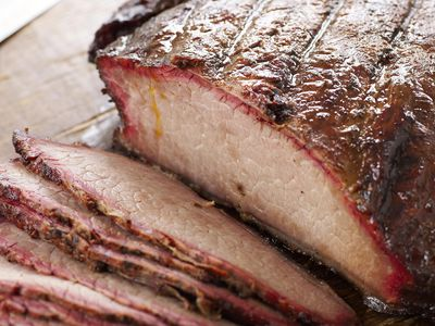 brisket fat side up or down