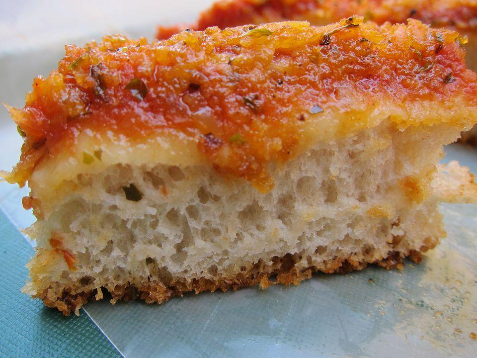 Lo Sfincione - La pizza original de estilo siciliano