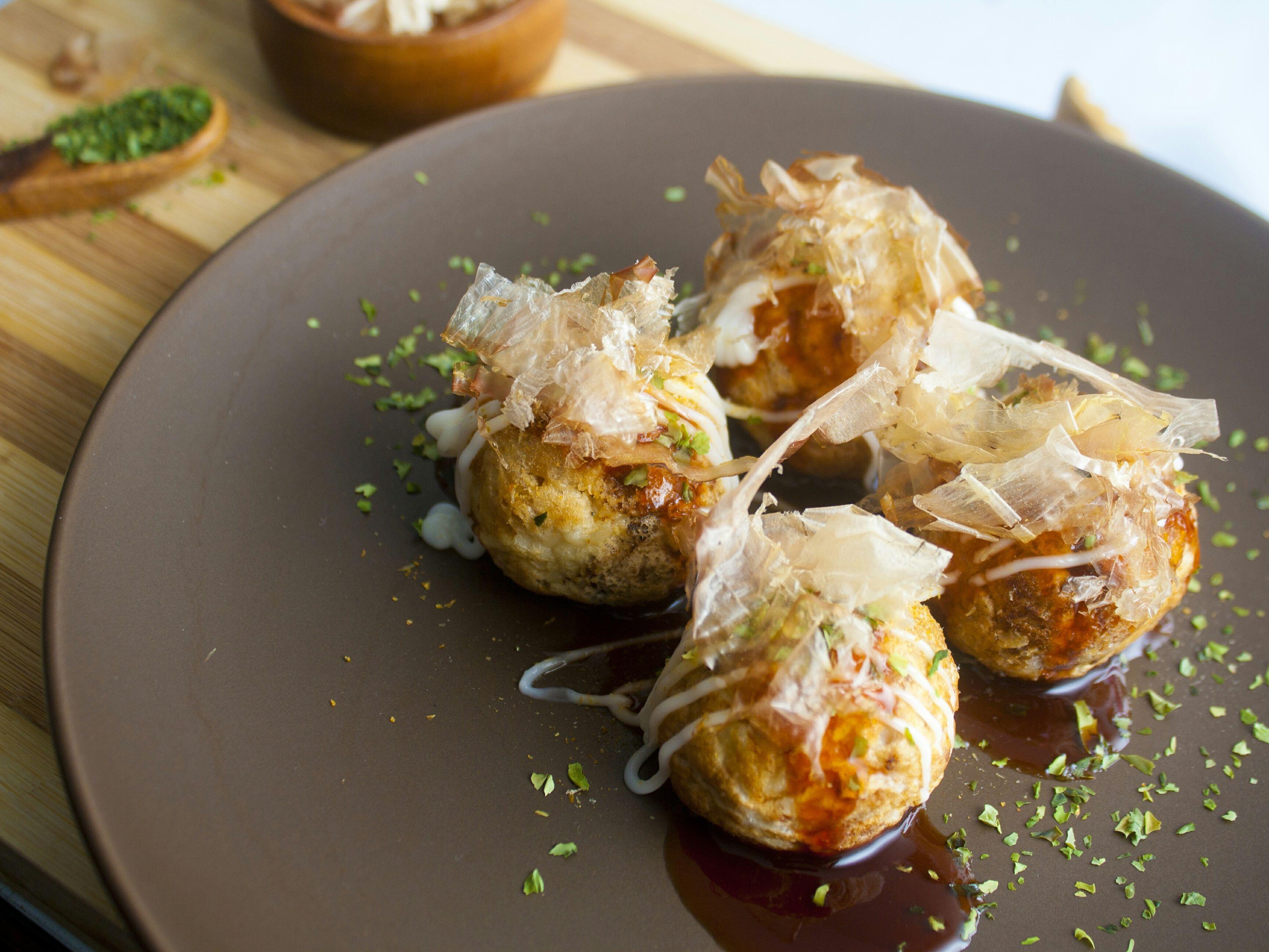 Japanese Pancake Bites With Octopus Recipe