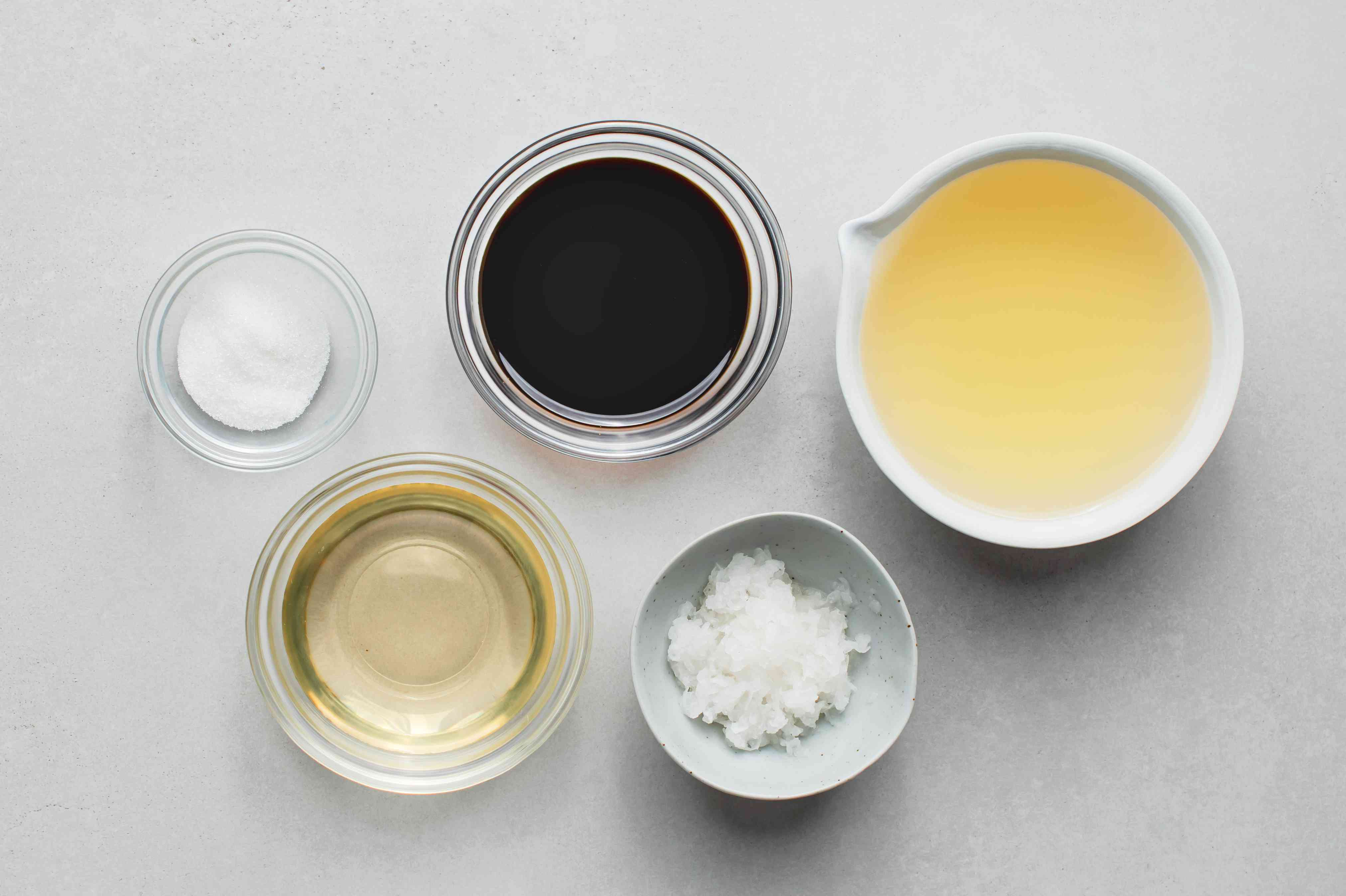 Tempura dipping sauce ingredients