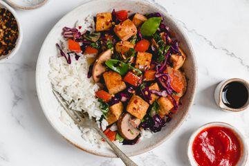 Vegan Chinese Kung Pao Tofu