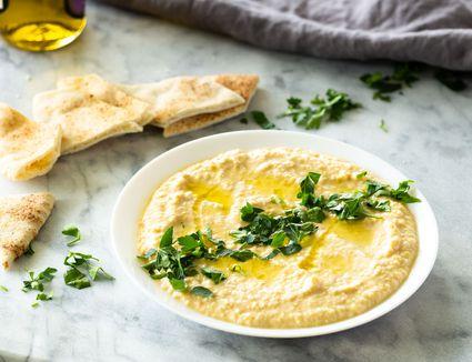 Hummus With Tahini recipe