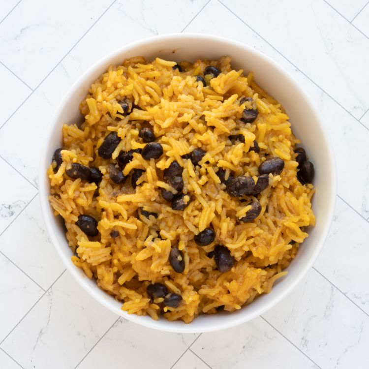 Yellow Rice and Beans Tester Image