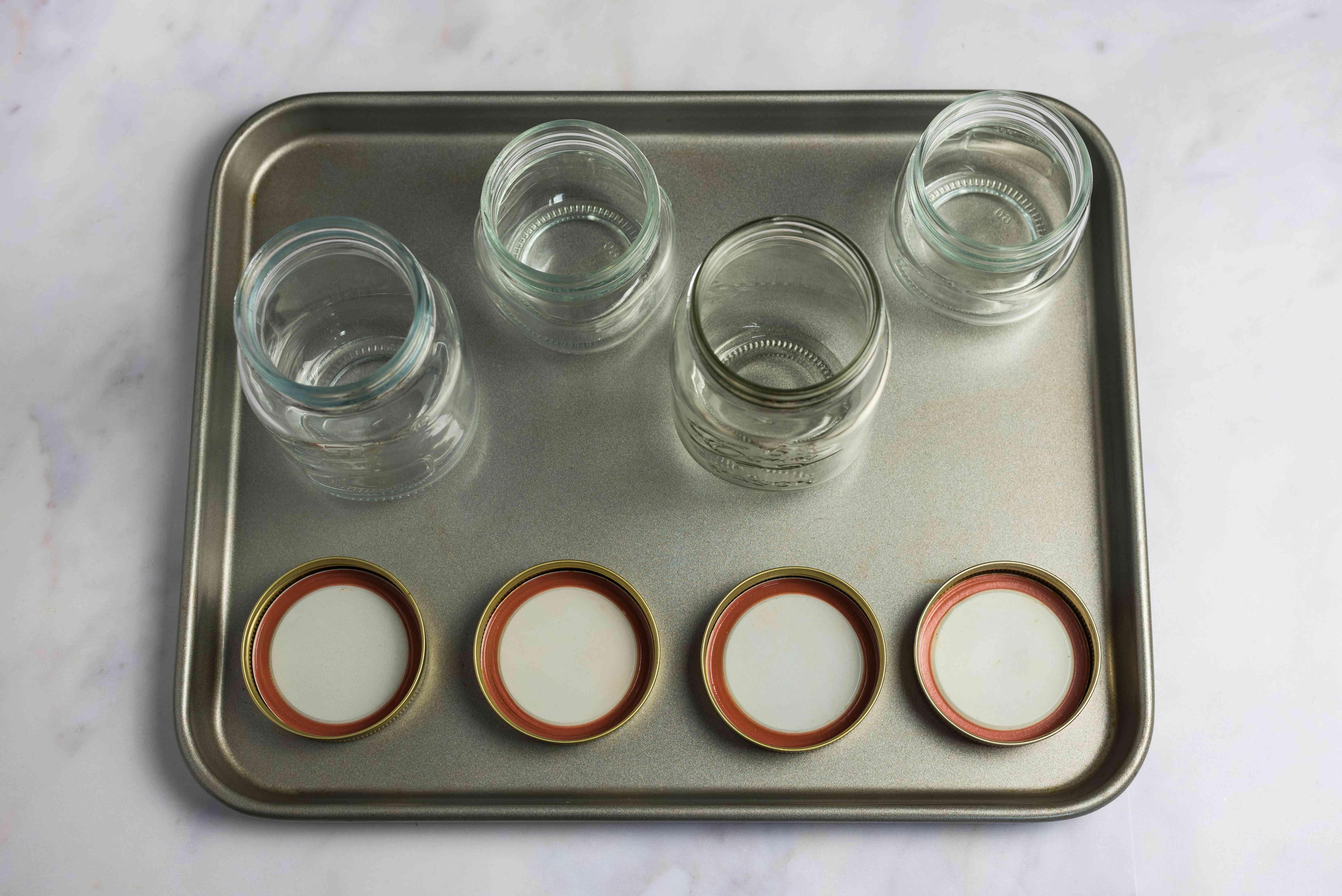 Prepare and sterilize jars