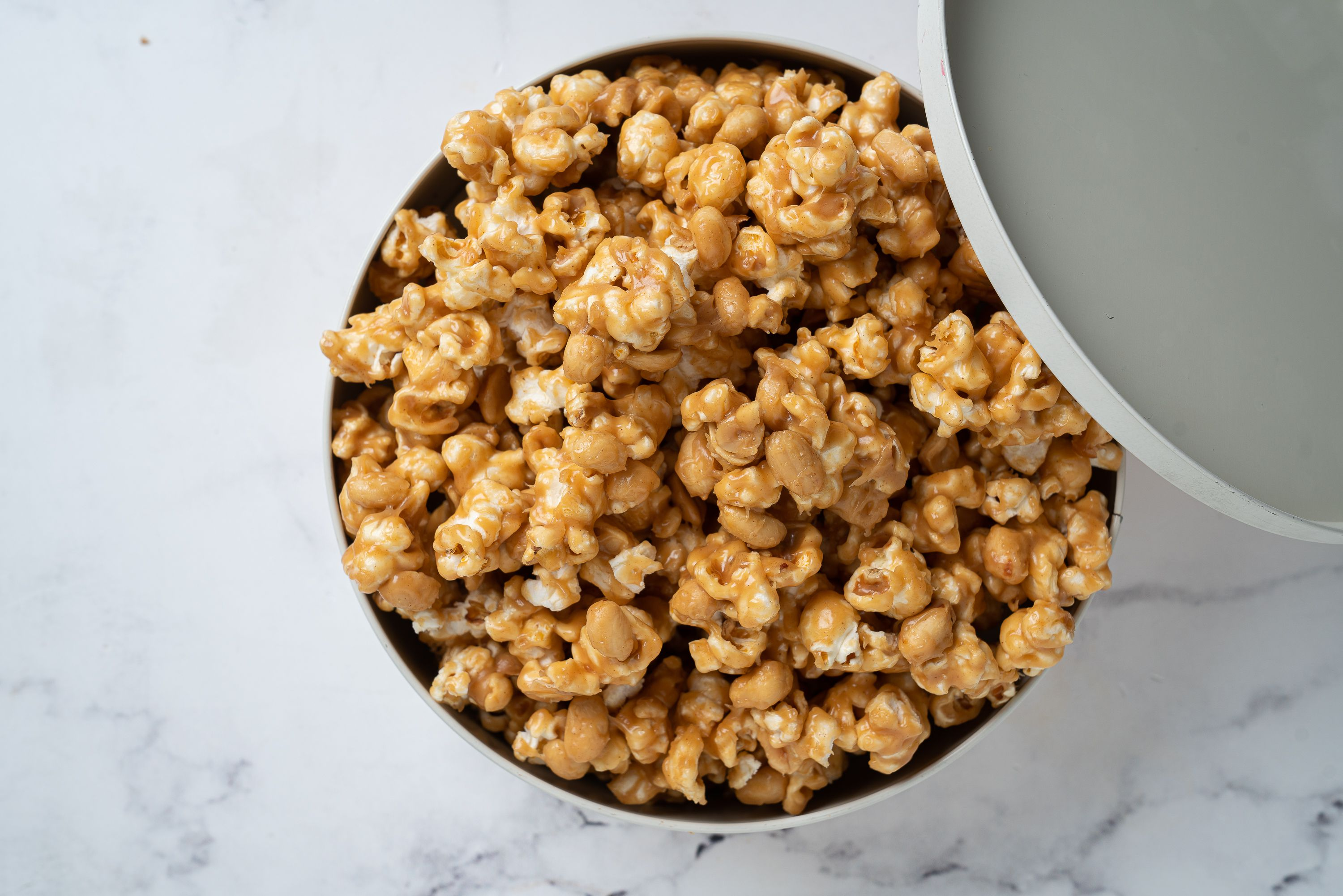 Peanut Butter Popcorn Is the Perfect Sweet and Salty Movie Night Snack