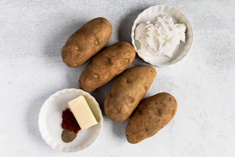 Stuffed Baked Potatoes ingredients