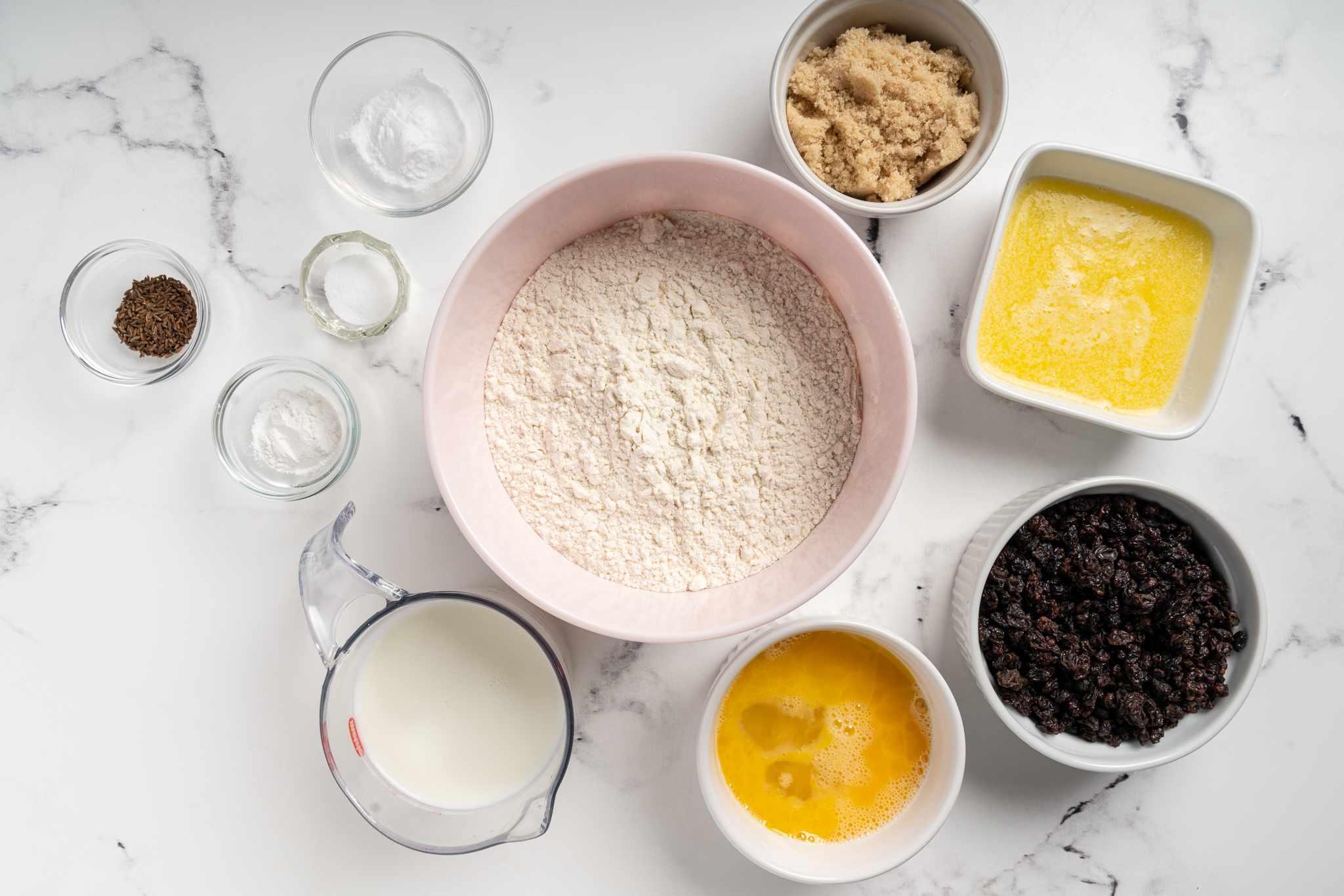 Irish Soda Drop Biscuits ingredients