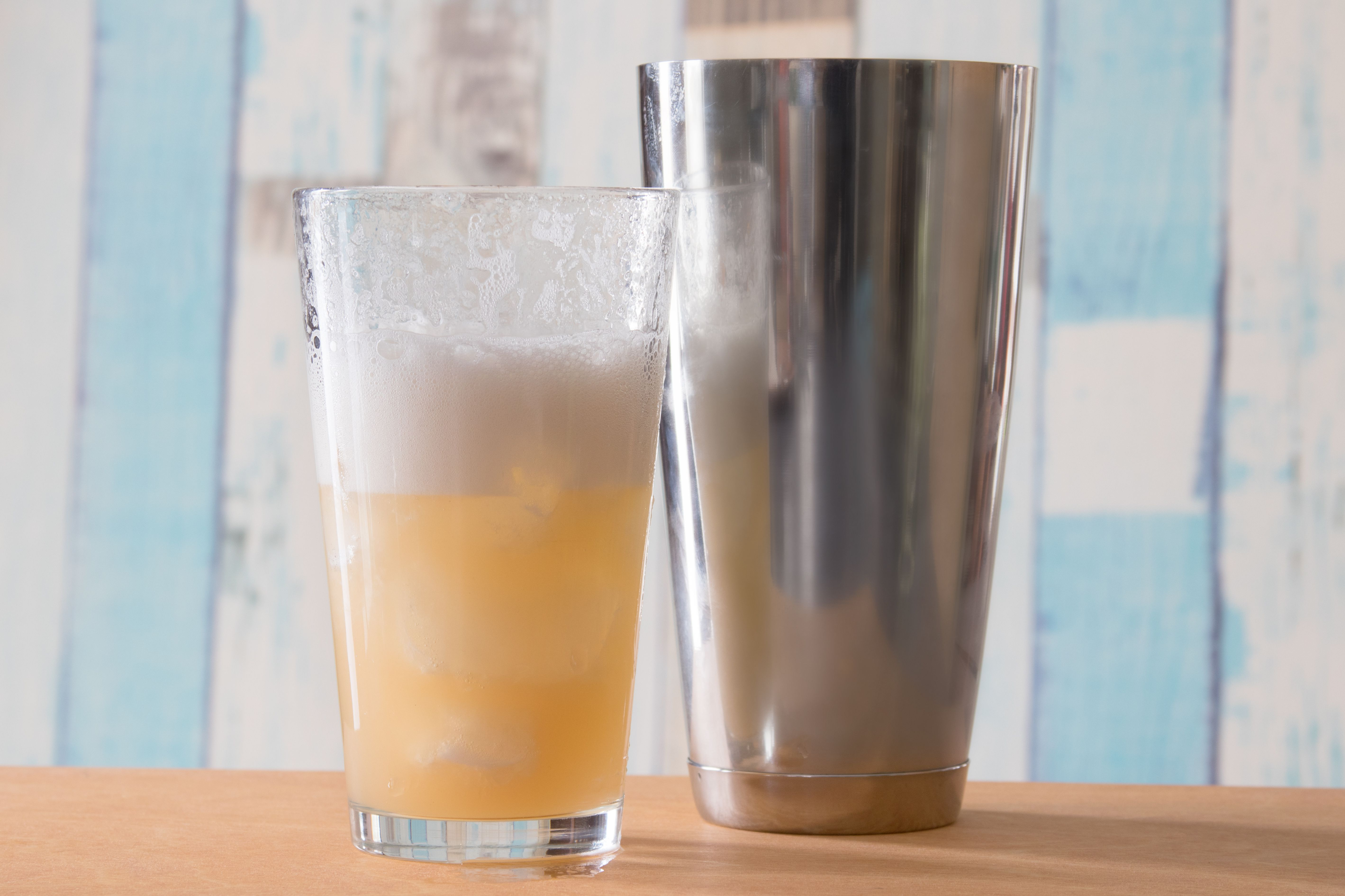 Shaking the Whiskey Sour 101 Cocktail