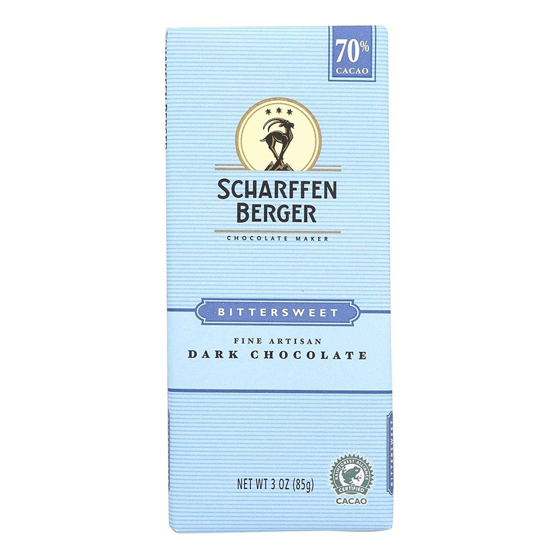 Scharffen Berger Bittersweet Fine Artisan Dark Chocolate