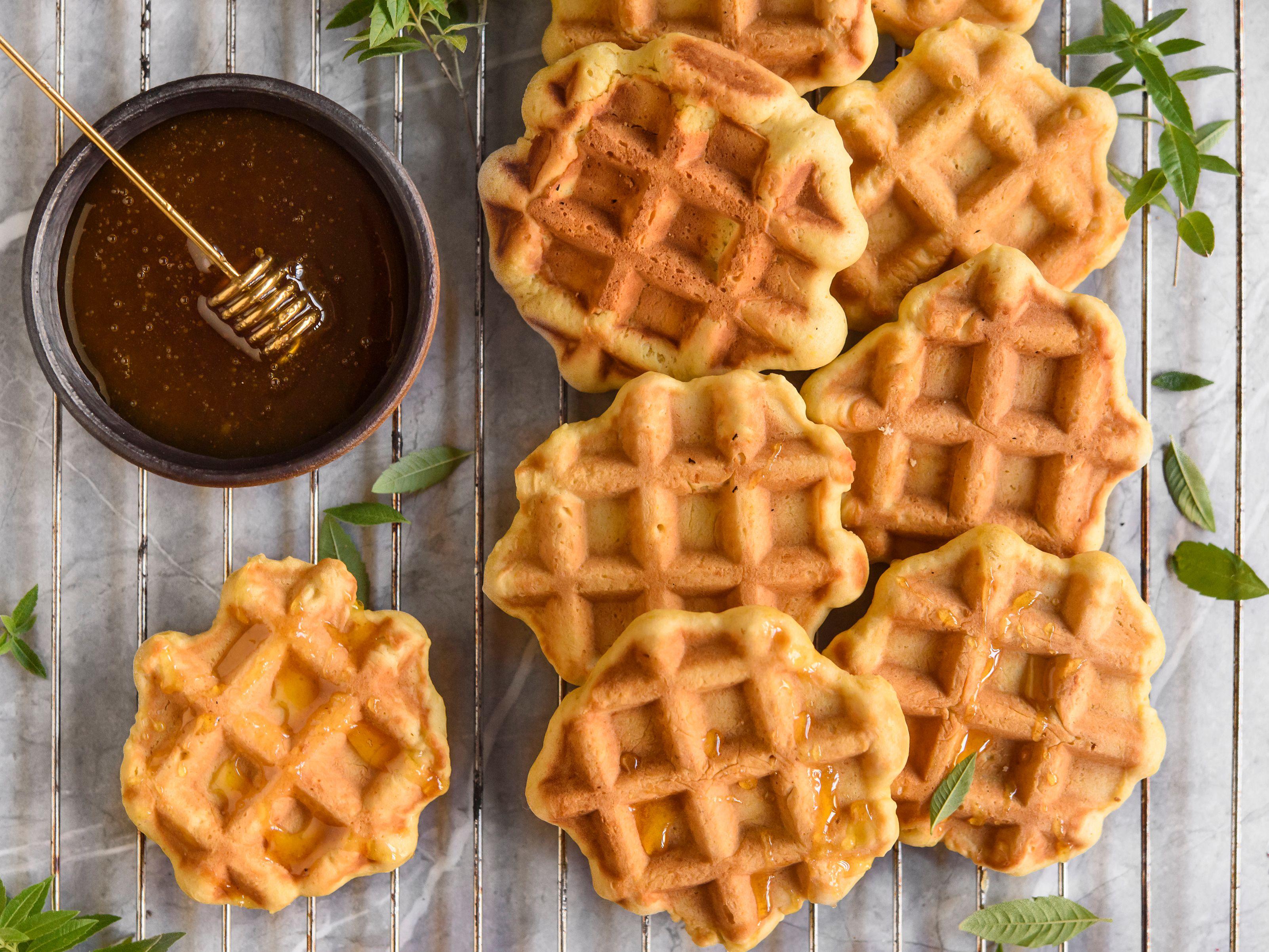 French Belgian Waffle Cookies (Gaulettes) Recipe