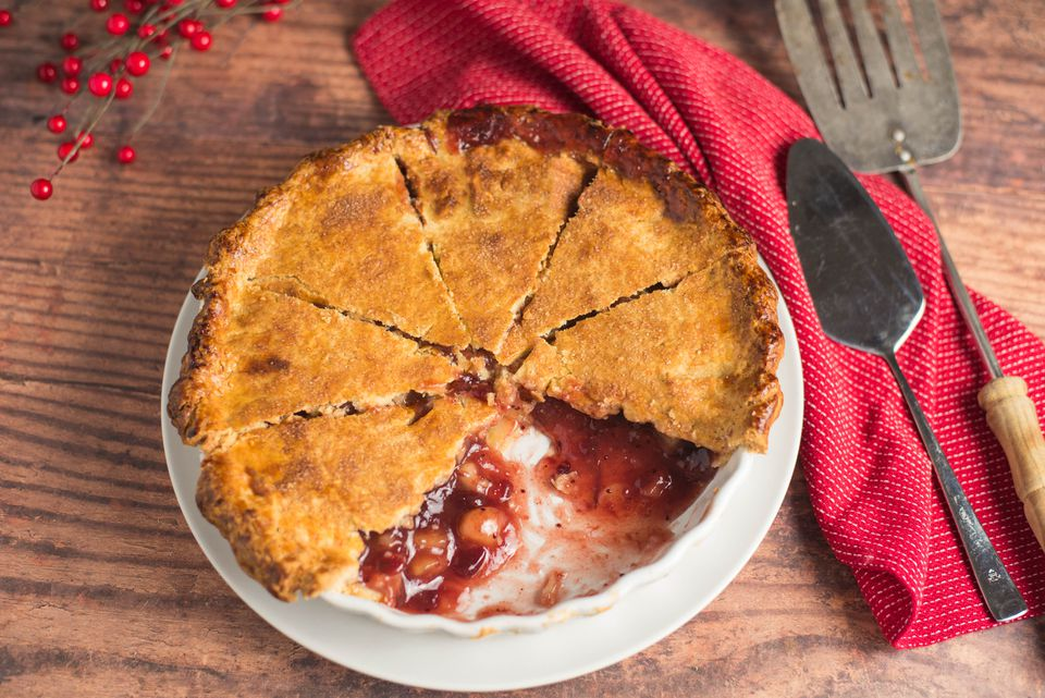 Easy apple cranberry pie recipe