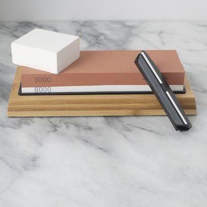 Chefic BearMoo Whetstone Premium 2-in-1 Sharpening Stone
