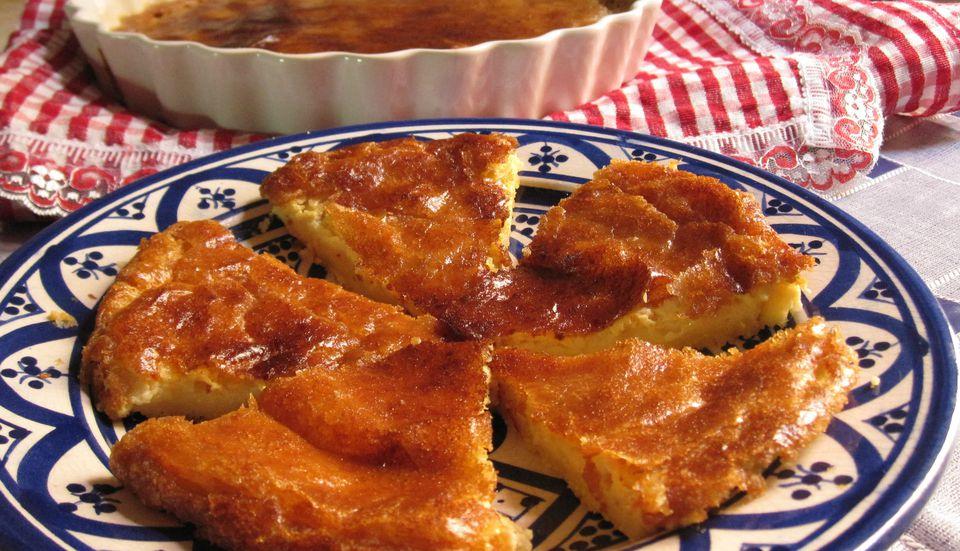 Kalinti - Tarta marroquí de harina de garbanzos y huevo