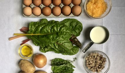 """The Dynamite Shop - Frittata """"how to"""" mise en place"""