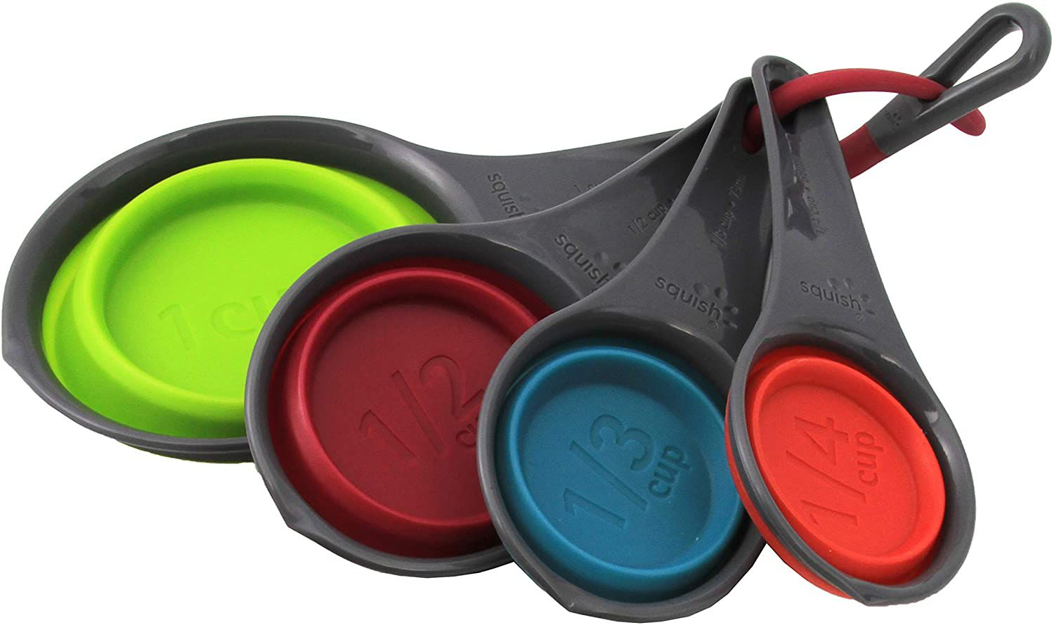 Squish 4-Piece Collapsible Measuring Cup Set