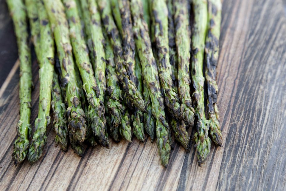 how to cook asparagus on griddle