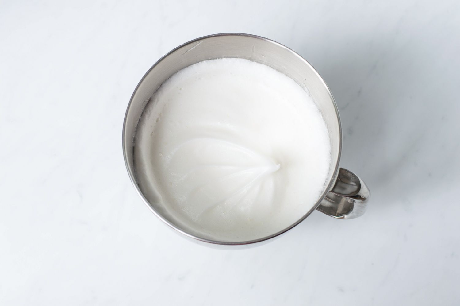 Buttercream frosting cooking process