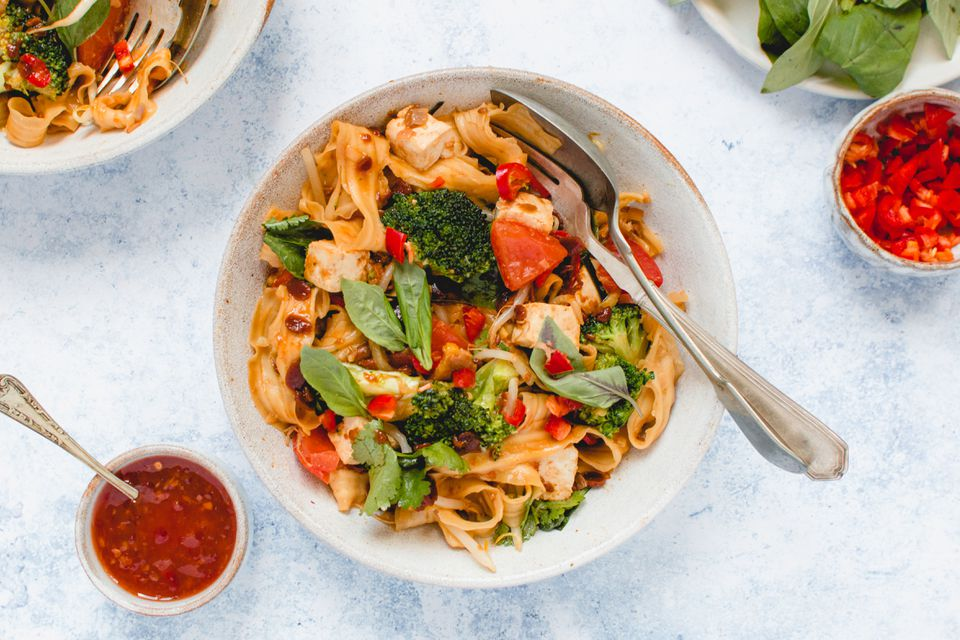 "Easy Bangkok-style ""Drunken Noodles"" Recipe"