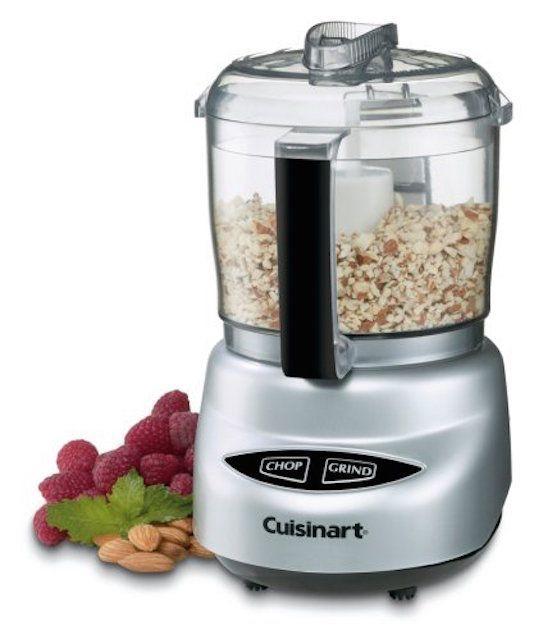 Cuisinart DLC-2ABC Mini Prep Plus Food Processor Brushed Chrome and Nickel