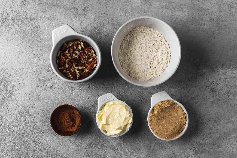 streusel topping ingredients