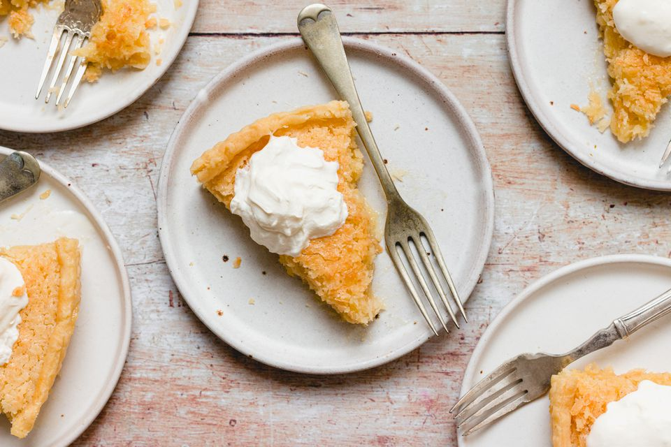 The Best Ever Coconut Pie