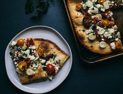 Mediterranean Pizza Final