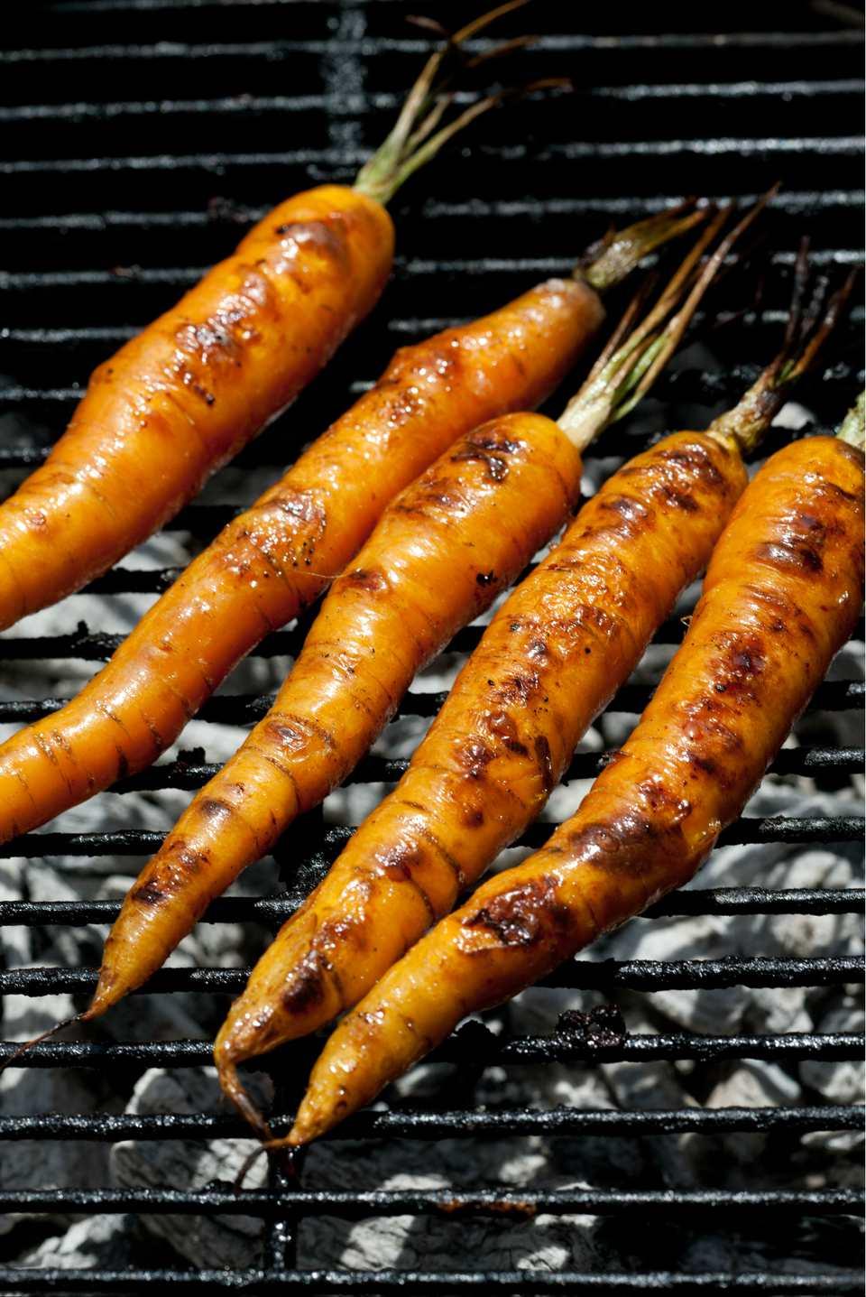 Zanahorias a la parrilla