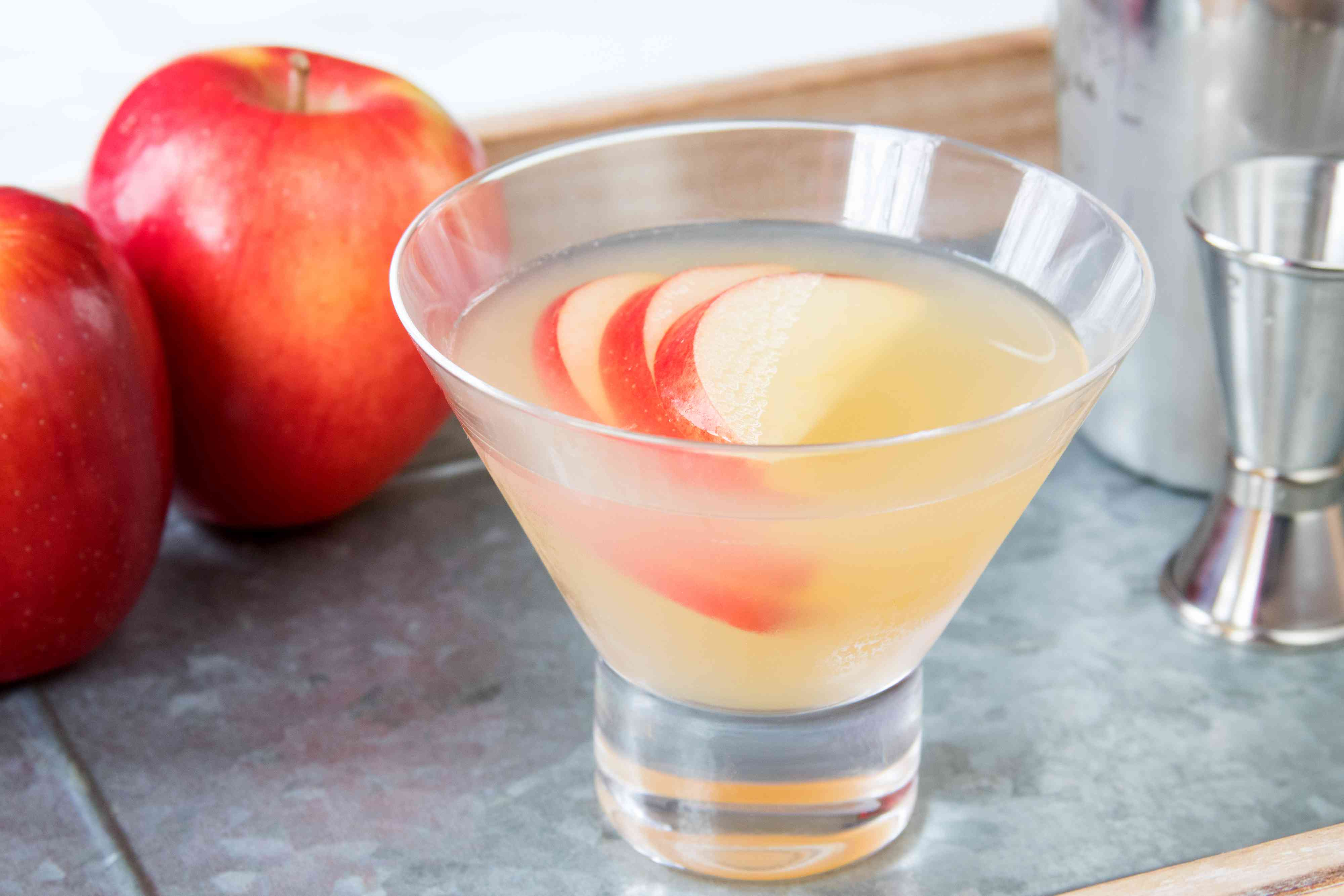Tequila Caramel Apple Pie Cocktail