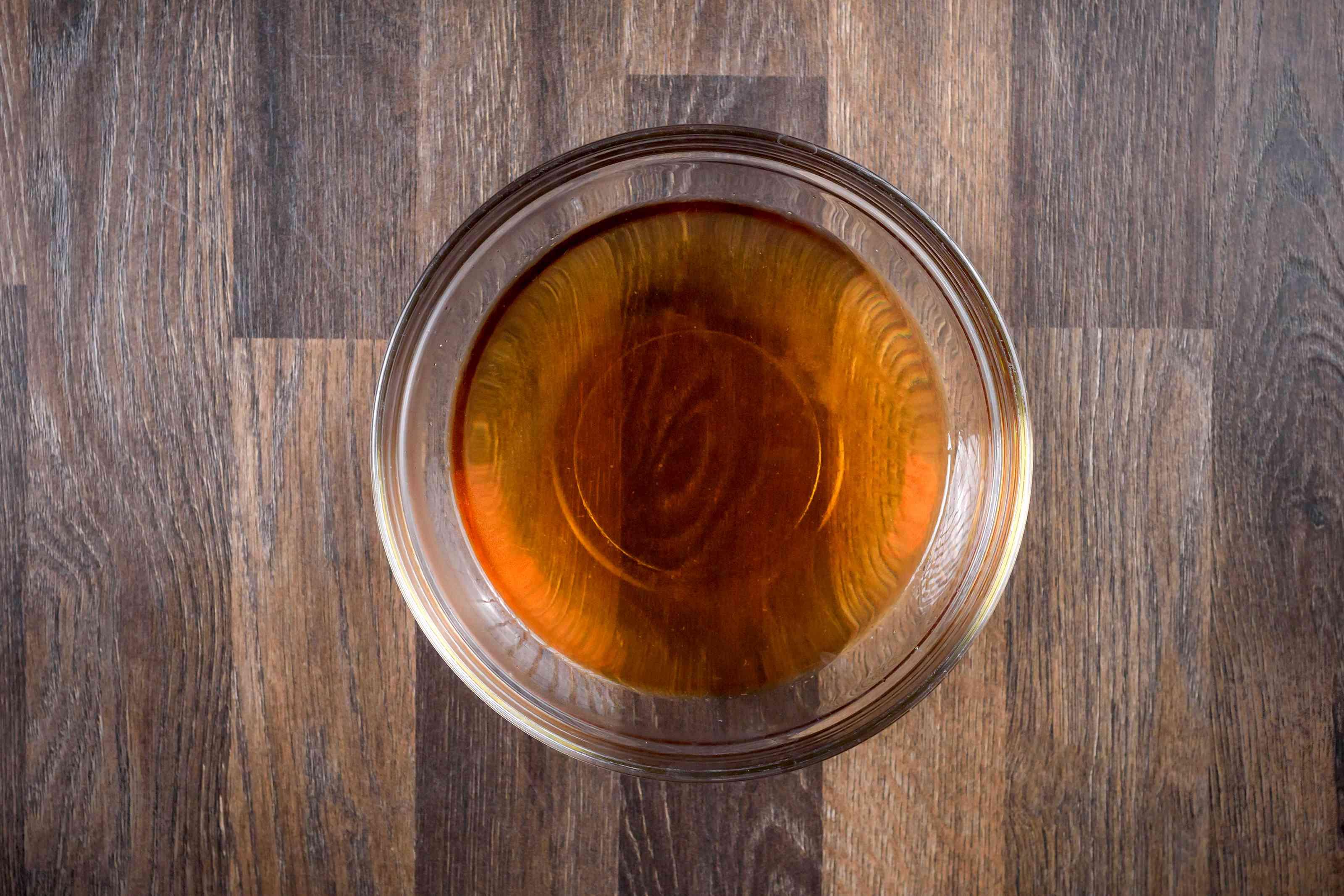 Microwave sugar and corn syrup