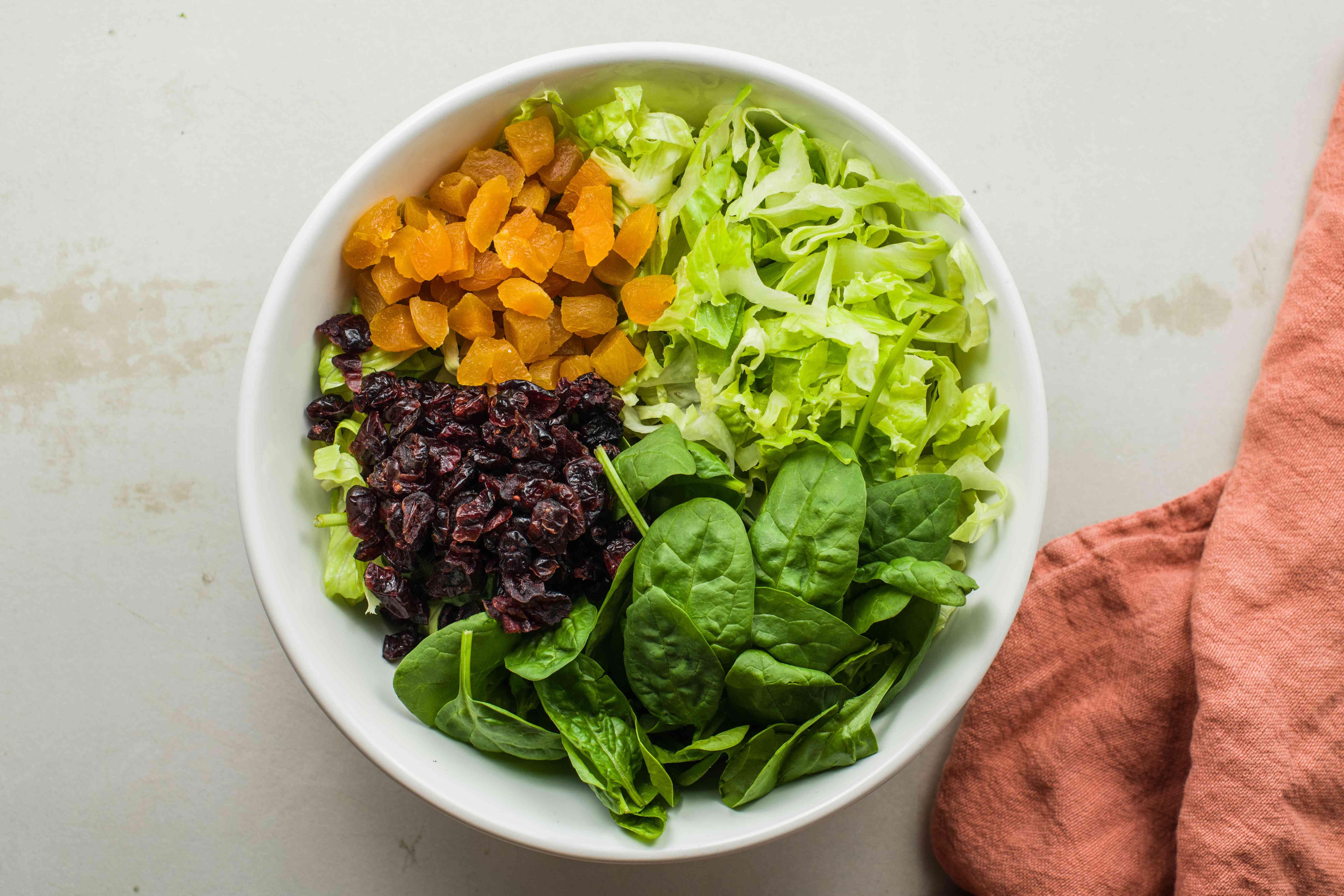 Put ingredients into large bowl