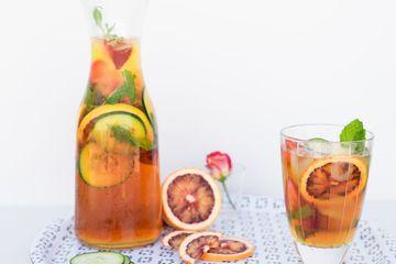 Classic Pimm's and Lemonade